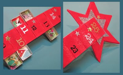 How to make a matchbox advent calendar