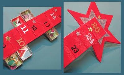 How to make a matchbox advent calendar