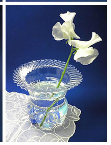 Super modern recycled plastic bottle vase