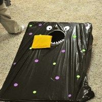 Dress up your corn hole game for Halloween