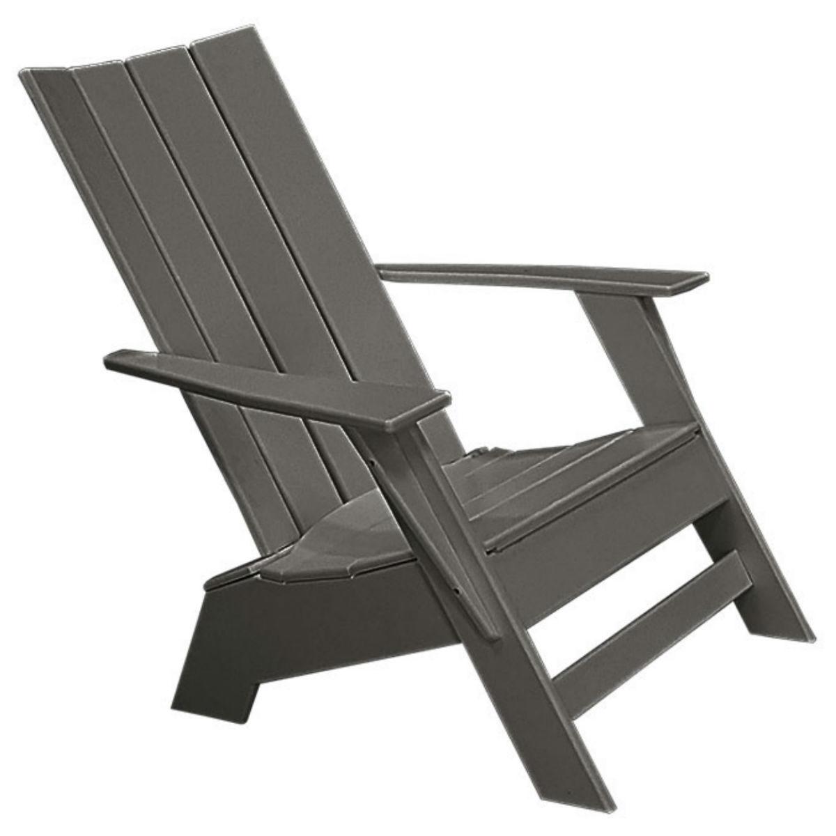 Modern Muskoka Chair Recycled Patio