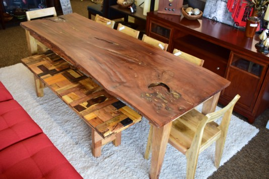 Tropical Salvage Dining Table
