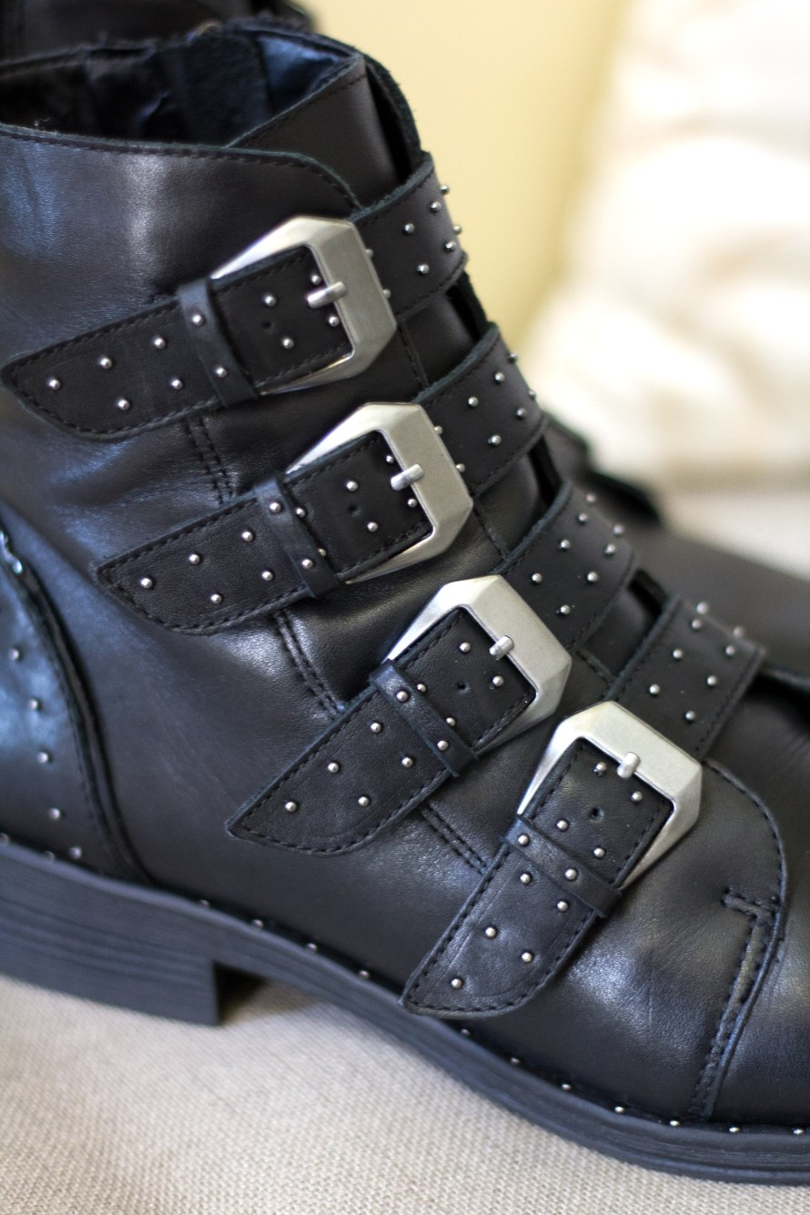 Look for Less: Givenchy Studded Boot Dupe