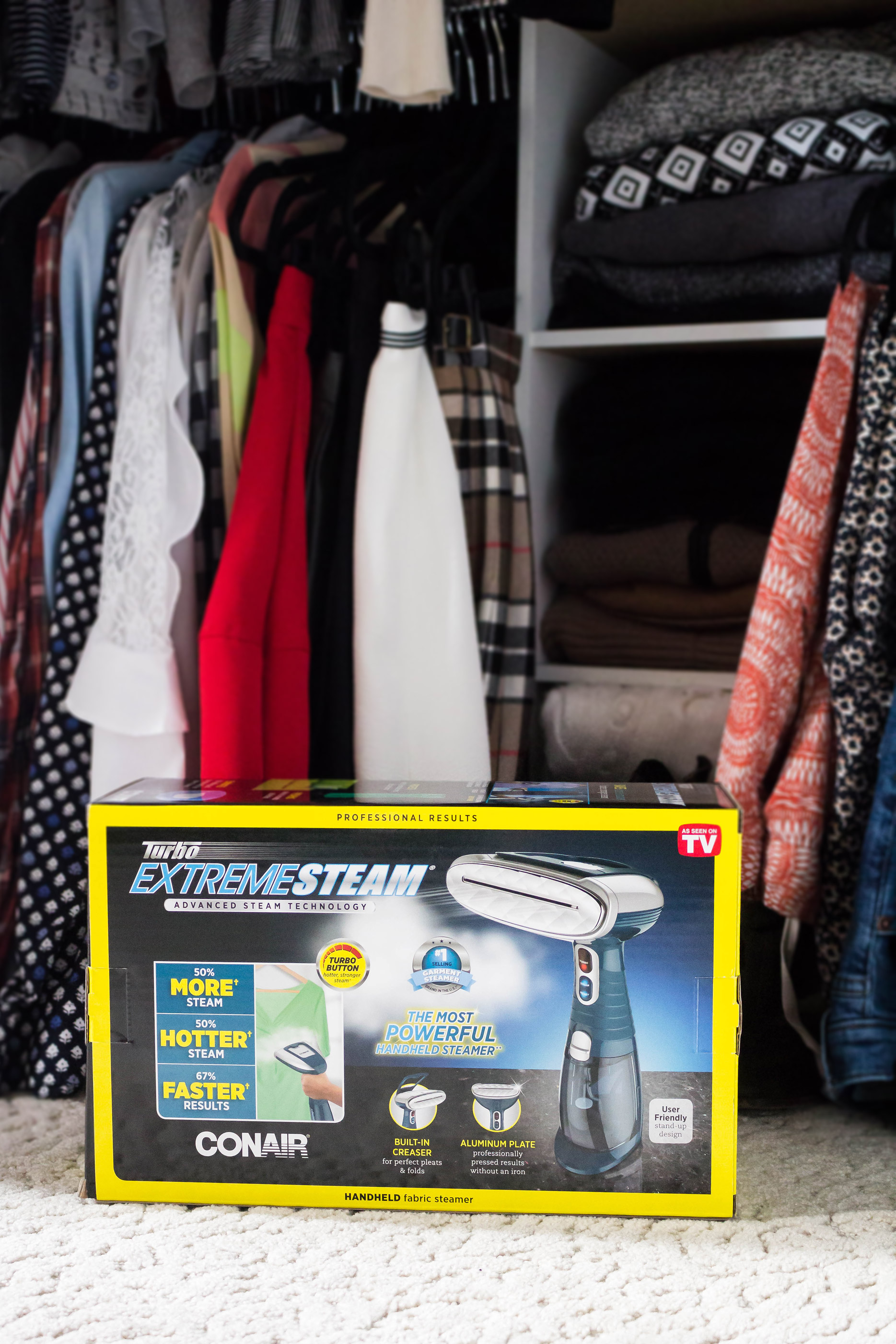 Review: Conair Turbo ExtremeSteam Handheld Fabric Steamer
