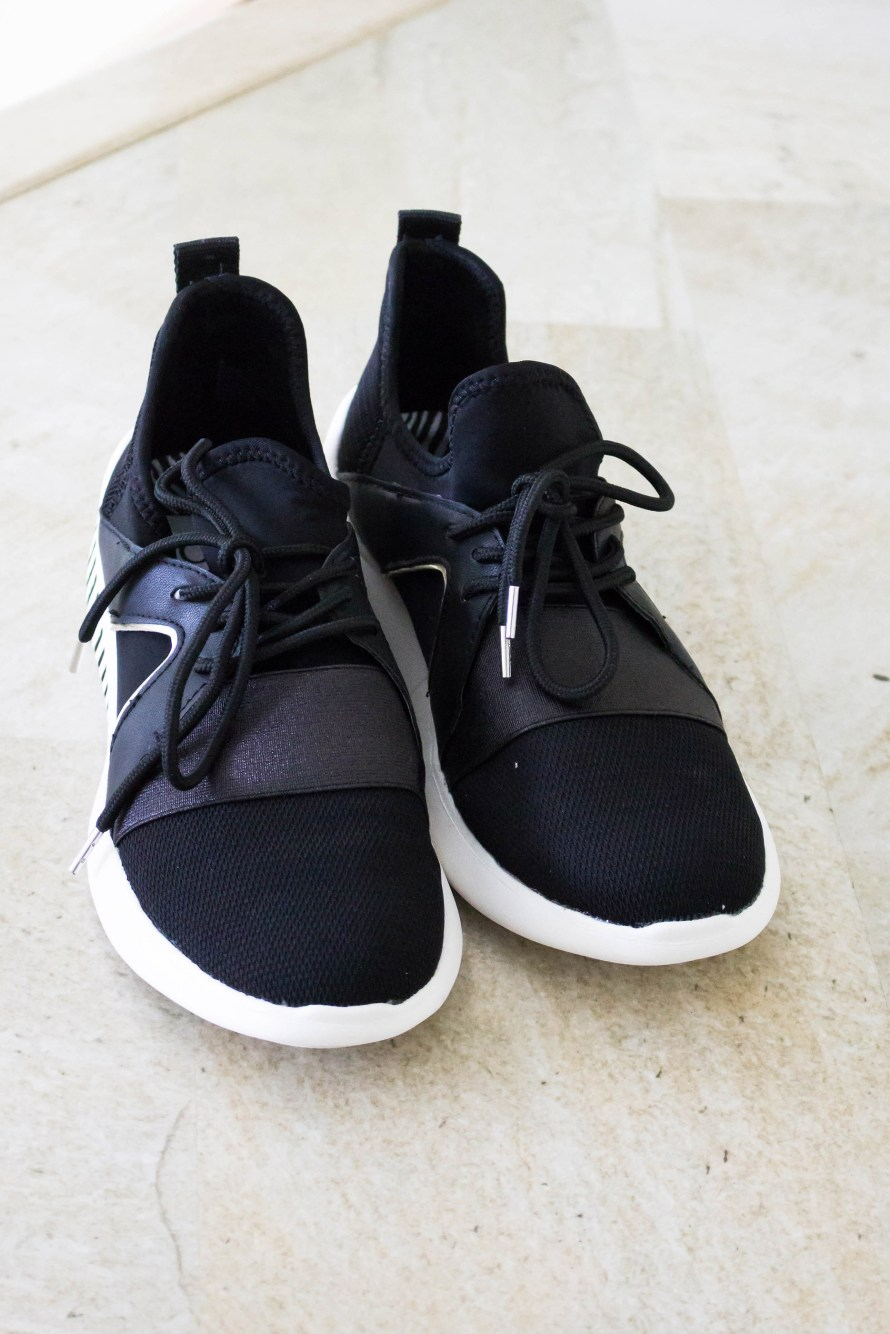 Designer for Less: Black Sneakers by DV for Target