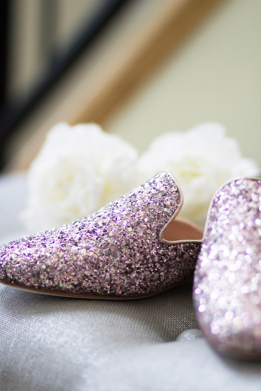 The Perfect Glitter Loafers for Spring