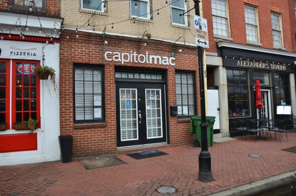 Capitolmac in the Fells Point area of Baltimore has closed its doors.