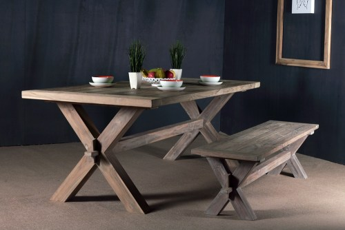 reclaimed teak furniture - teak table PFIT-03