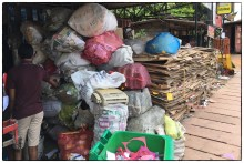Pelawatte scrap dealer where we sell paper and cardboard