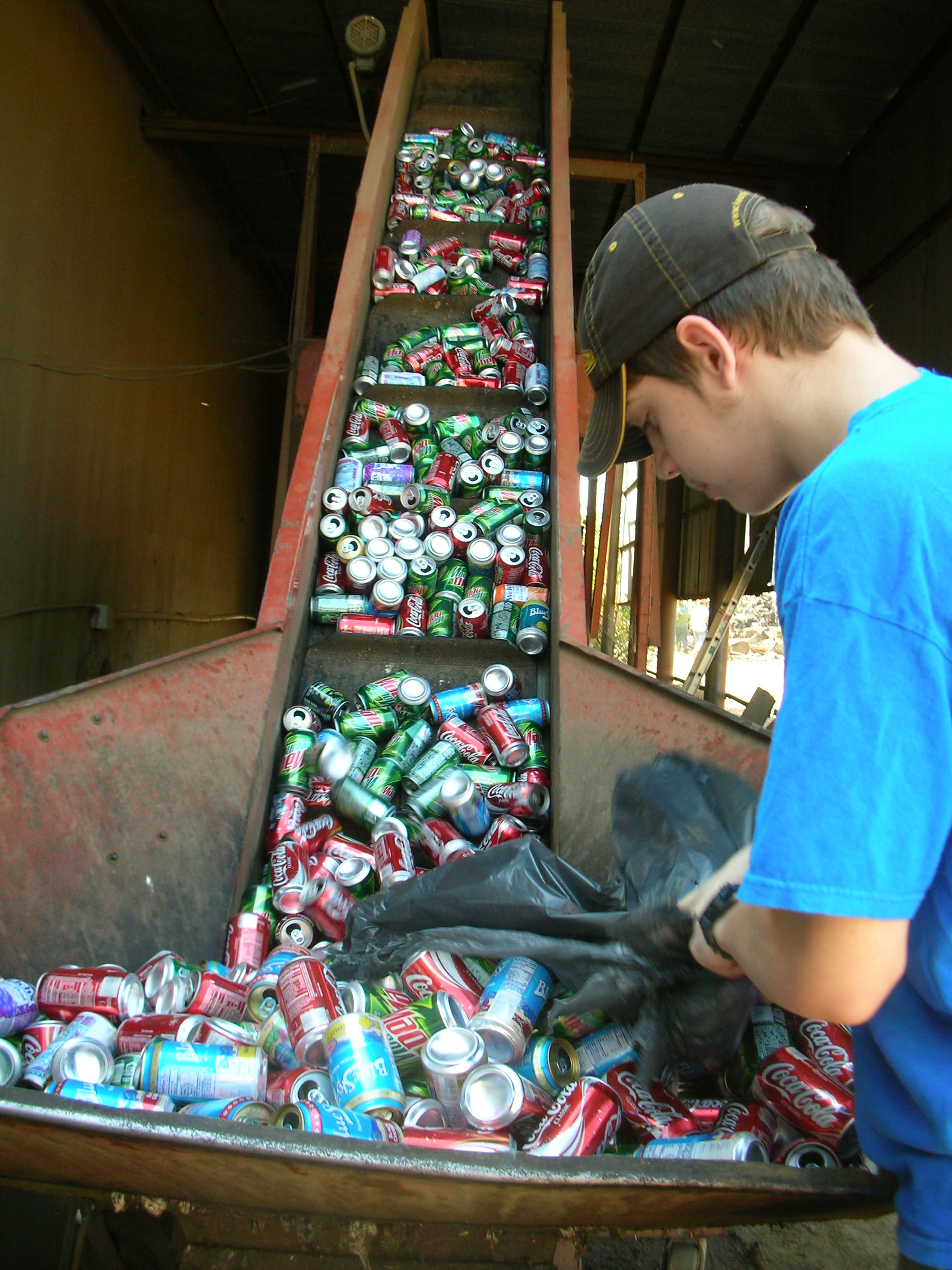Recycling Bottles Amp Cans