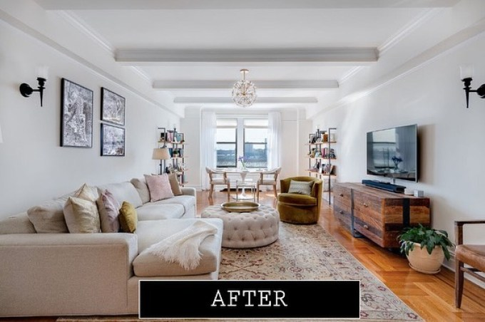 After DIY furniture design