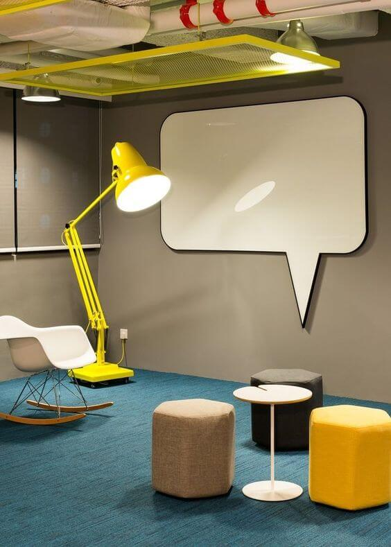 Professional Design Office Space relax