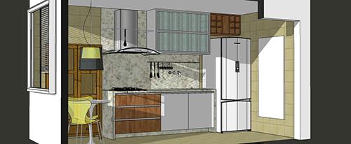 Projeto de reforma da cozinha