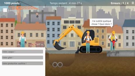 Le joueur joue le rôle d'un inspecteur de sécurité