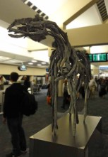 Possible Deb Butterfield horse in SFO.