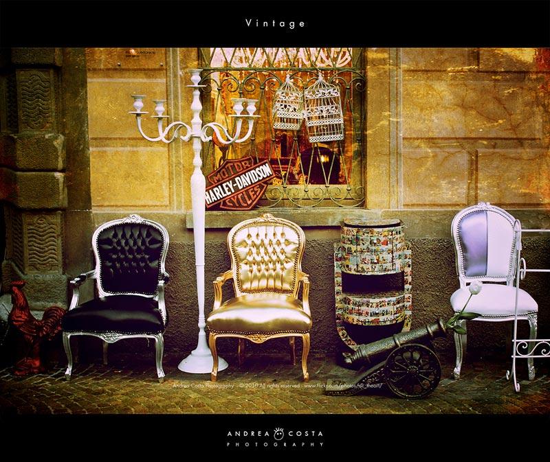 Moda y diseño vintage