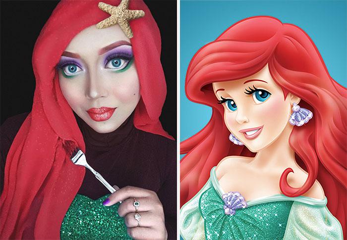 Disney Maquillaje Princesas (10)