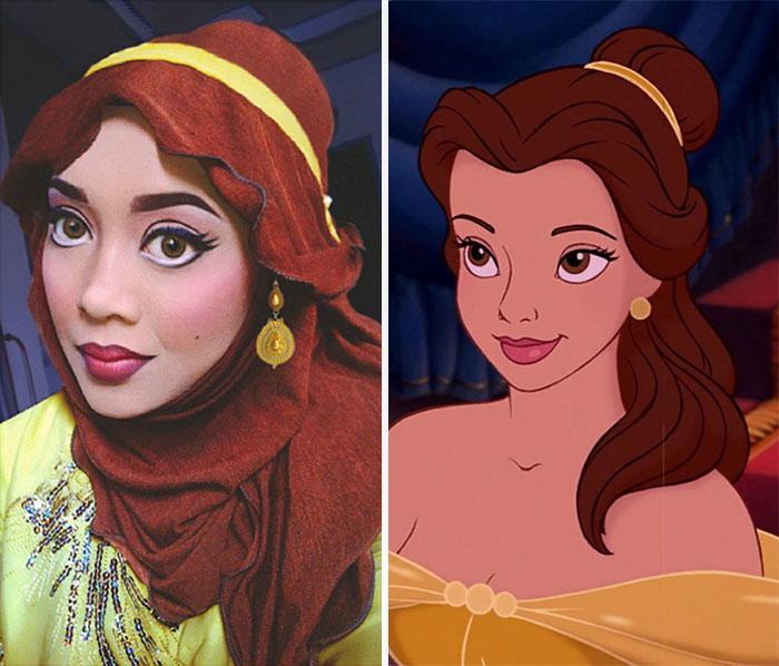 Disney Maquillaje Princesas (11)