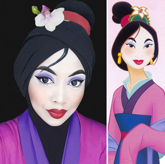 Disney Maquillaje Princesas (5)