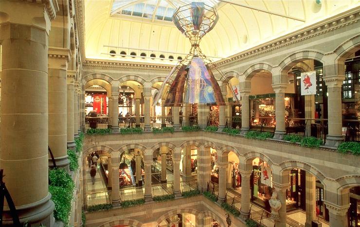 Interior Magna Plaza | via:  wikipedia.org