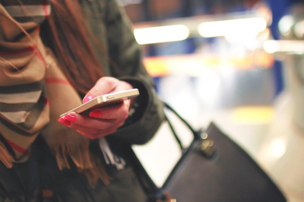 Smartphone text