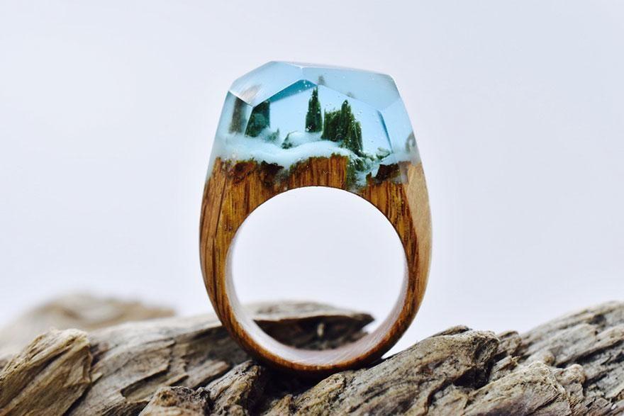 anillos artesanales impresionantes