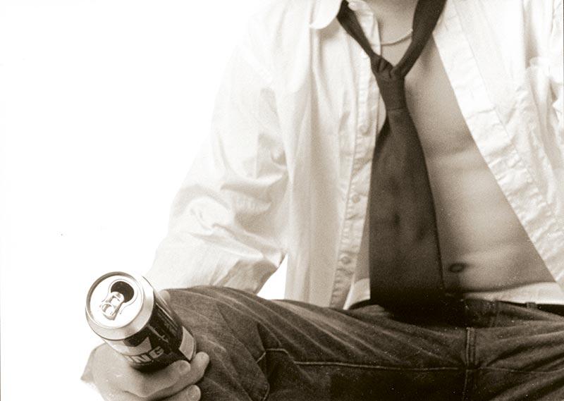 Modelo y cerveza