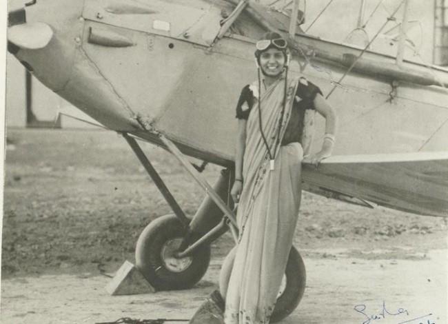 primera mujer piloto en la india