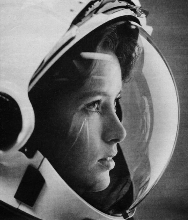 la primera madre en el espacio