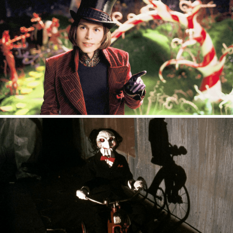 Willy Wonka and Saw