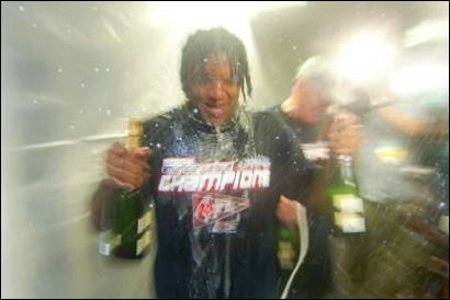 Pedro celebrates