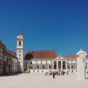 Universidade de Coimbra em Portugal.