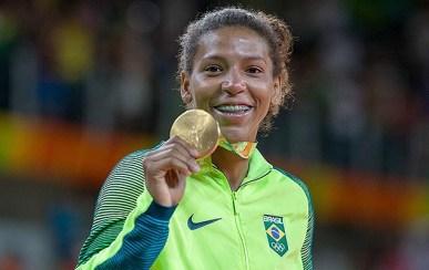 Rafaela Silva.