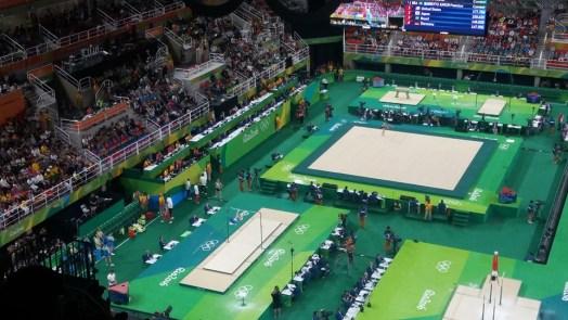 Arena Olímpica Rio 2016.