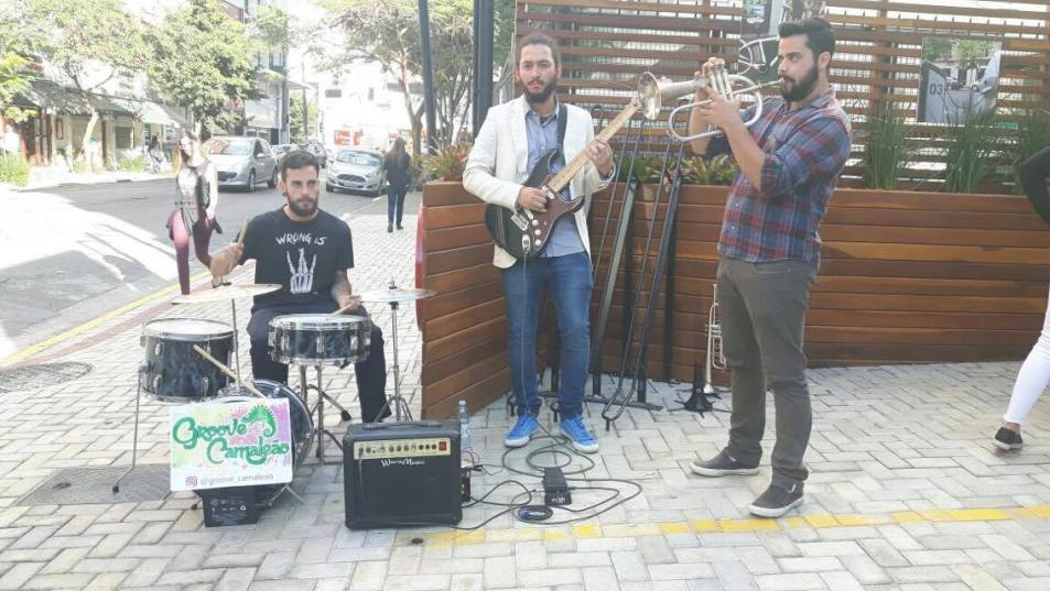 Banda Groove Camaleão