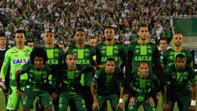Jogadores da Chapecoense que enfrentariam o Atlético Nacional
