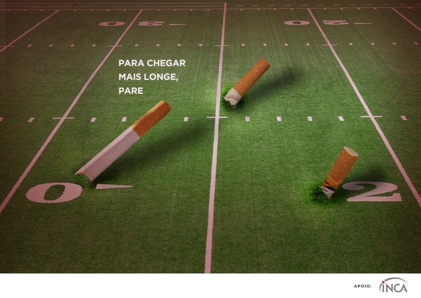 Campanha contra o uso do cigarro