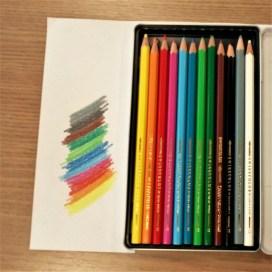 Lápis de cor aquarelável!