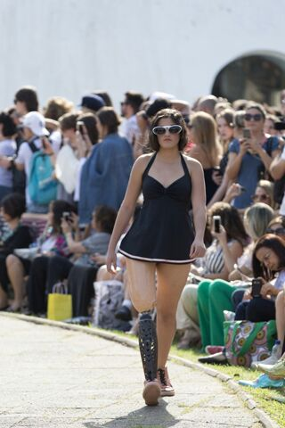 Desfile da Ronaldo Fraga no São Paulo Fashion Week (Foto: Thaina Fernandes)
