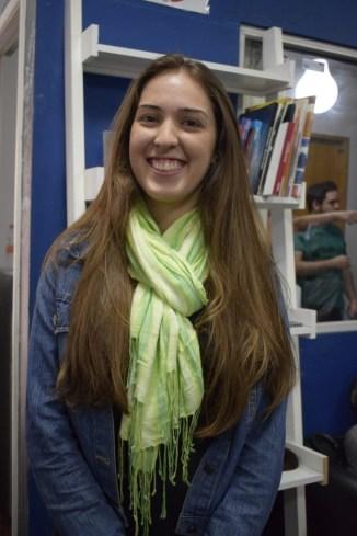 Luana Figueiredo estudante de jornalismo do primeiro semestre