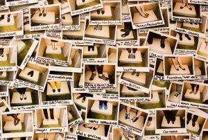 Pares de sapato - Museu Empatia