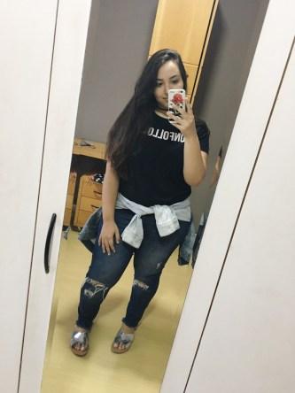 Lívia Rosa, estudante de Jornalismo e integrante da editoria de Moda