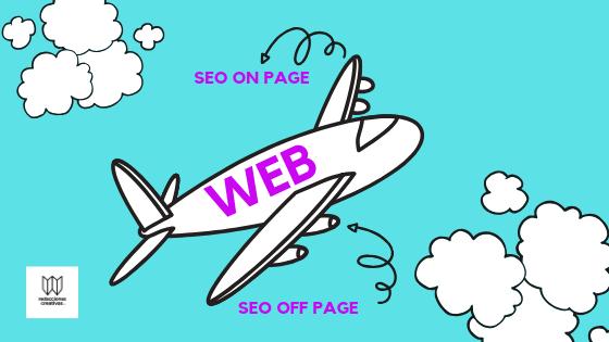 SEO off page y seo on page definición estrategias para el posicionamiento WEB