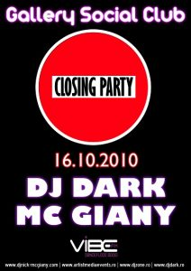 Dj Dark mixeaza in Weekend @ Tg Mures