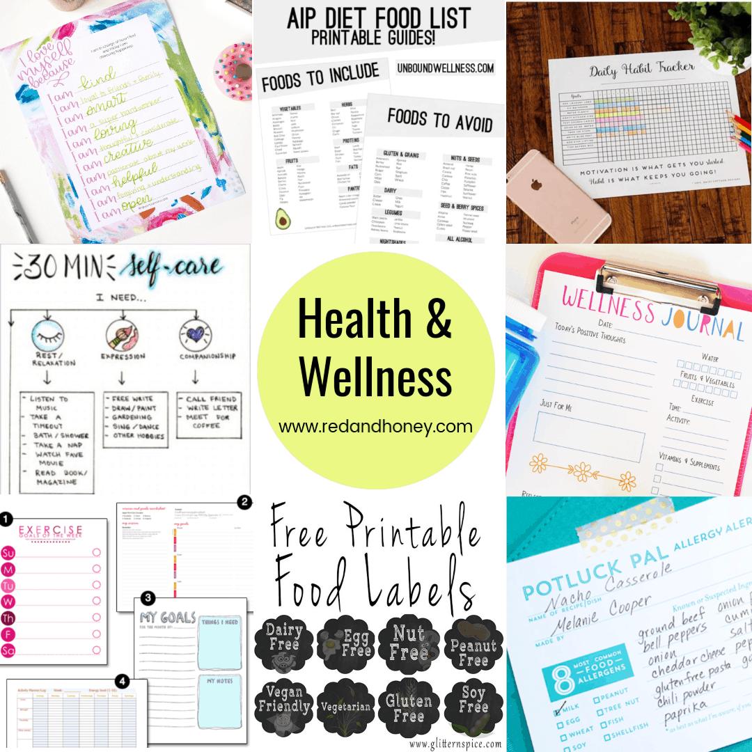 100 Free Printables For Home Amp Health Calendars Habit