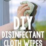 Diy Disinfectant Cloth Wipes Red And Honey