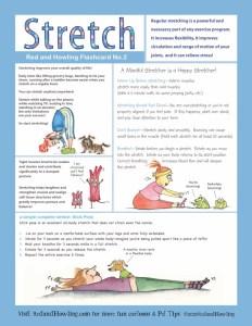 Wellness Flashcard 2: Stretch