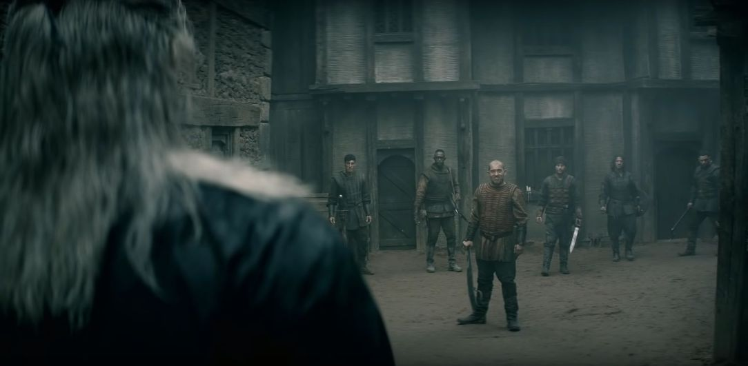 cảnh quay trong the witcher