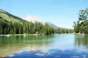 Hiking from String Lake to Jenny Lake