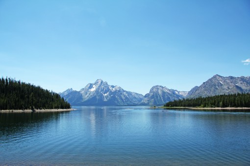 Best views of the tetons